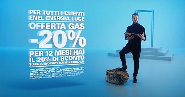 Nuova campagna per Enel Energia: protagonista sempre Alessandro Cattelan