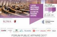Al via il Forum Public Affairs