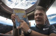 Il fumetto di Rat-Man in orbita sulla stazione spaziale