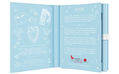 WYCON cosmetics e la nuova lip palette per aiutare i piccoli pazienti della LILT Milano