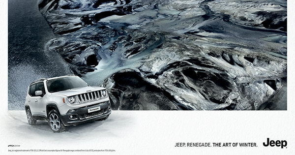 The Art of Winter, la nuova campagna invernale Jeep per la regione Emea