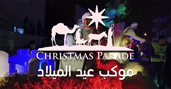 La sfilata di Natale tocca la Giordania