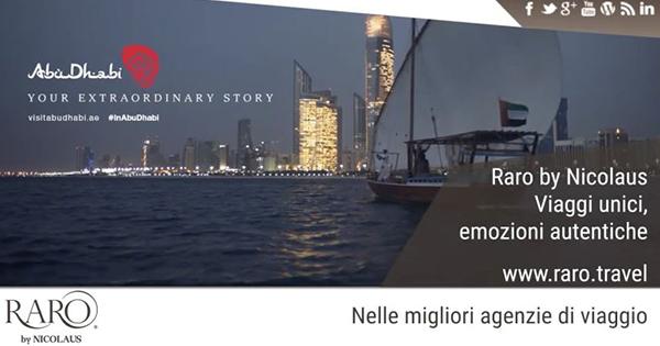 Via alla campagna di Raro by Nicolaus su Abu Dhabi nella metro Roma e Milano