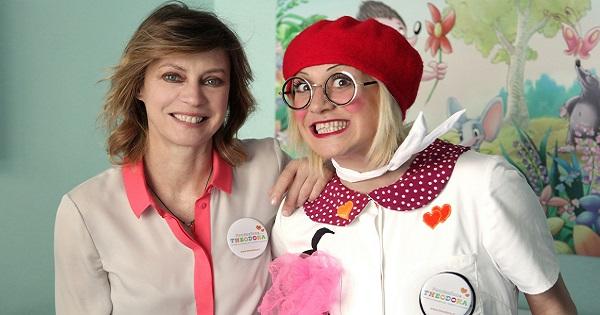 Margherita Buy testimonial per i bambini in ospedale con Fondazione Theodora