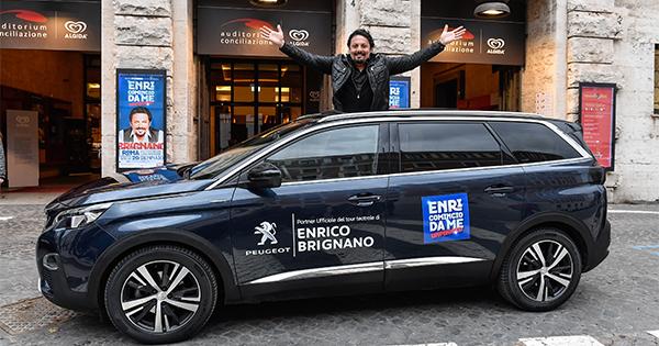Peugeot ed Enrico Brignano riprendono il loro viaggio lungo lo Stivale