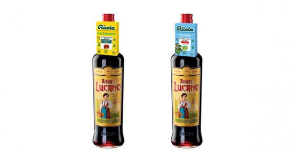 Amaro Lucano e Ricola: via all'inedito co-marketing