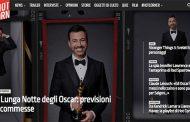La notte degli Oscar in diretta con Hot Corn