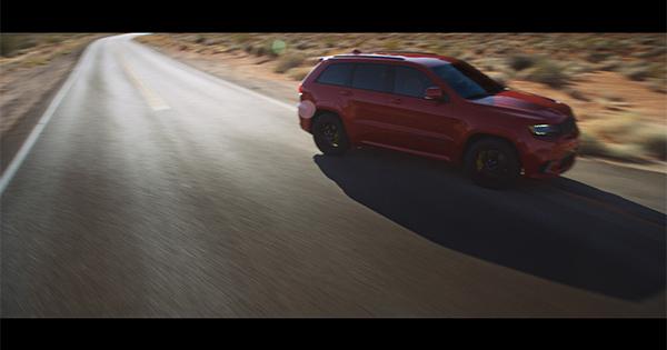La rapidità della nuova Jeep Grand Cherokee Trackhawk secondo Leo Burnett