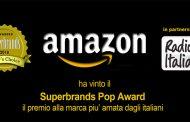 """Amazon è di nuovo la """"marca più amata dagli italiani"""""""