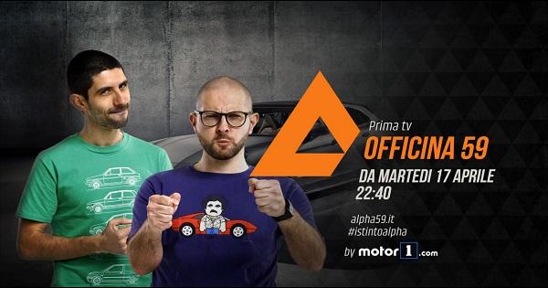 Edimotive e De Agostini Editore presentano Officina 59 by Motor1.com