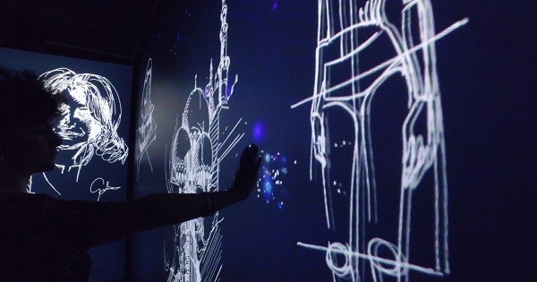 Souldesigner con un'installazione per Moleskine al Mudec evoca il  retail del futuro