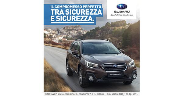 Subaru Italia lancia la nuova Outback con un campagna firmata Cernuto Pizzigoni & Partners