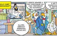 Chef Cannavacciuolo in versione fumetto su Topolino