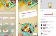 Instagram presenta gli adesivi con emoji a scorrimento