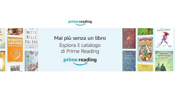 Amazon annuncia Prime Reading: il nuovo beneficio dedicato all'intrattenimento per i clienti Amazon Prime