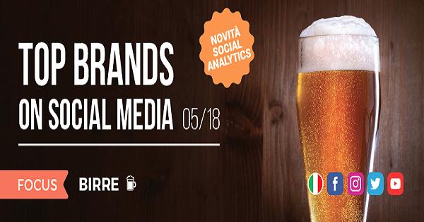 Top Brands secondo Blogmeter: i brand di Birra più social