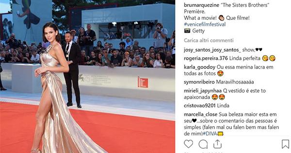Instagram: alla Mostra del Cinema di Venezia si impone la brasiliana Lady Neymar