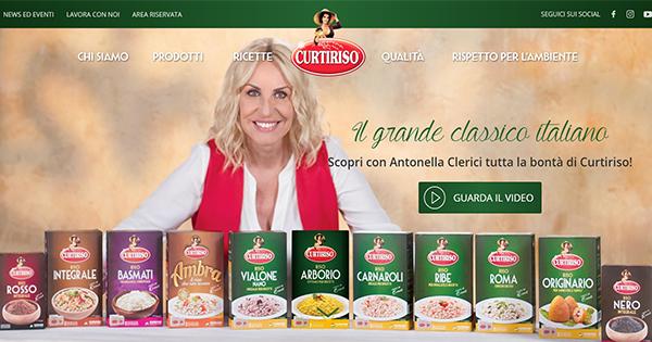 Curtiriso si rinnova sul web: online il nuovo sito del grande classico italiano