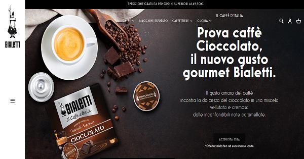 È online il nuovo Bialetti.it: Triboo si occupa del lancio del sito smart