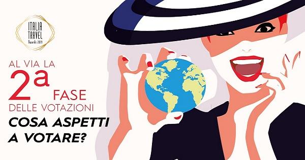 Aperte le votazioni della seconda fase di Italia Travel Awards 2019