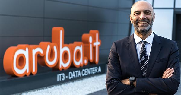 Aruba: Stefano Sordi Direttore Commerciale e Gabriele Sposato Direttore Marketing