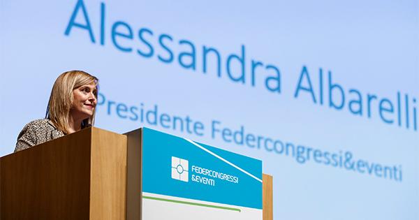 Federcongressi&eventi conferma Alessandra Albarelli Presidente
