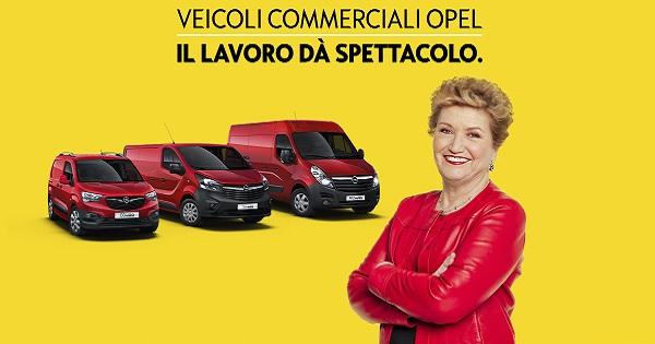 Mara Maionchi nuova ambassador dei veicoli commerciali Opel