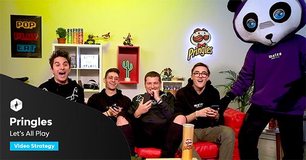 #letsallplay con Pringles: Caffeina vince la gara creativa