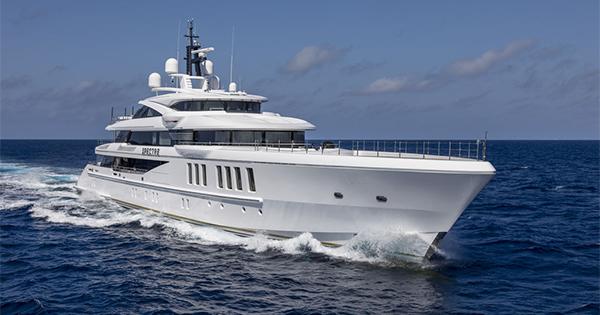 Il mega yacht Benetti