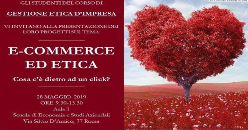E-commerce ed etica: cosa c'è dietro ad un click? - Roma