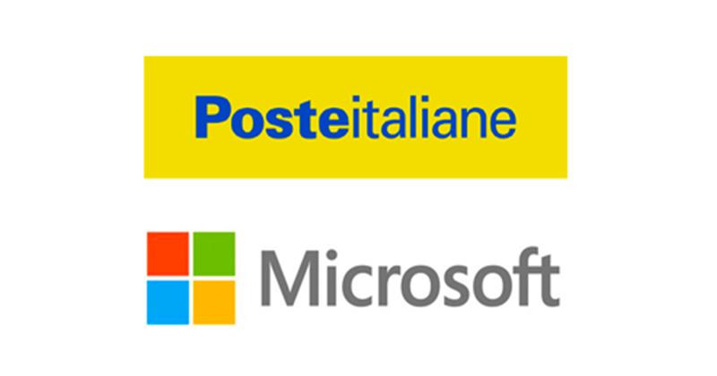 Intesa tra Poste Italiane e Microsoft per la trasformazione digitale del gruppo
