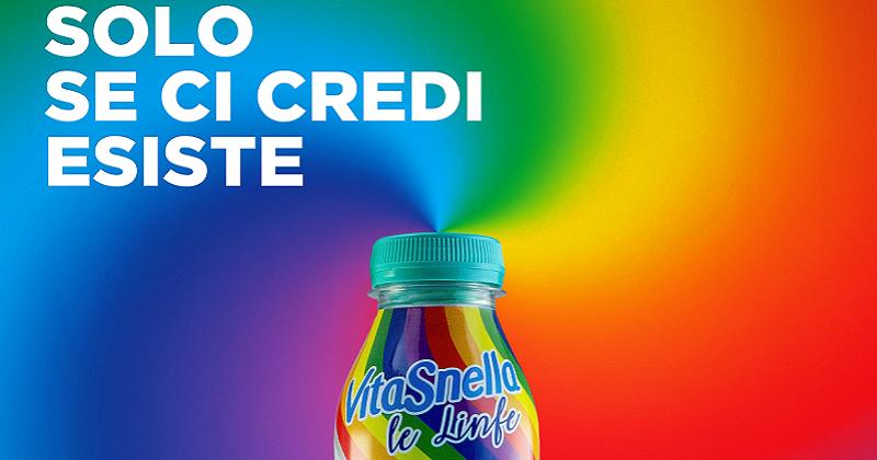 Acqua Vitasnella celebra il Pride 2019 con la Linfa Unicorno