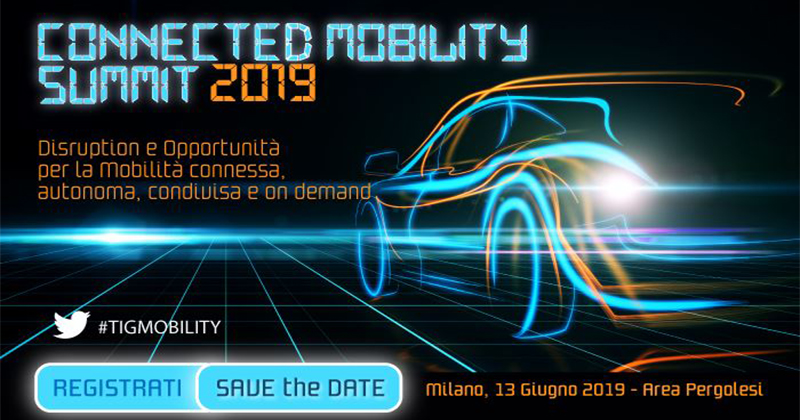 Connected Mobility Summit 2019 - Milano
