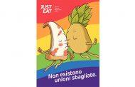 Just Eat lancia #JustAmore: perché anche la pizza e l'ananas hanno diritto di amarsi