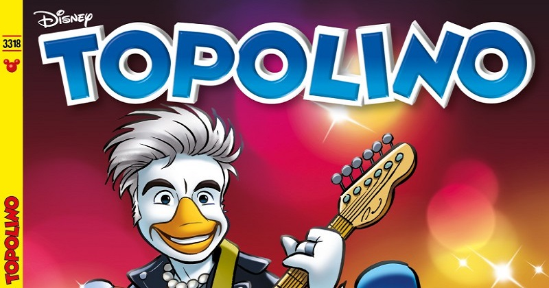 Ligabue diventa Liga Duck e canta a Paperopoli