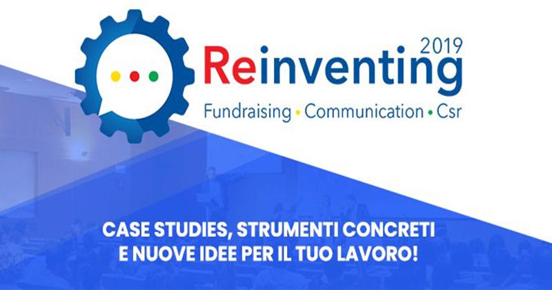 Reinventing Fundraising Communication Csr 2019 - Milano