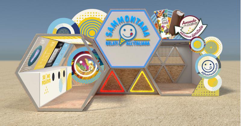 Sammontana, main sponsor del Jova Beach Party 2019, si affida ad Access per la realizzazione dell'area dedicata e dell'engagement