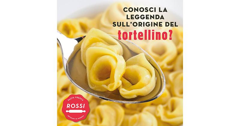 Erbacipollina lancia la nuova strategia social di Pasta Fresca Rossi