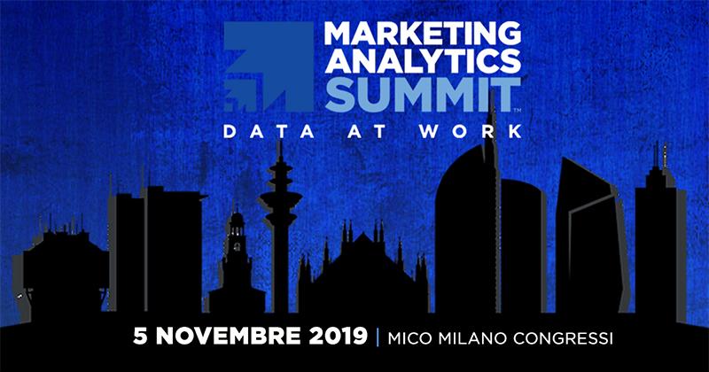 Per la prima volta in Italia arriva l'evento MAS - Marketing Analytics Summit