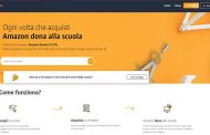 Amazon lancia «Un click per la scuola»: tutti gli acquisti diventano donazioni