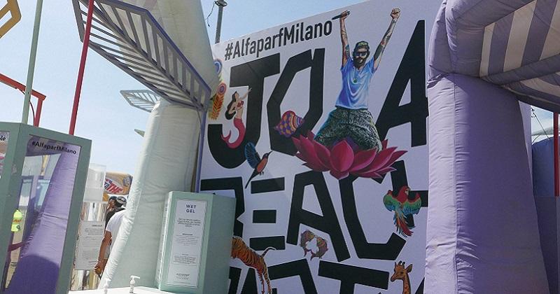 Alfaparf chiude la sua estate celebrando la bellezza al Jova Beach Party di Linate