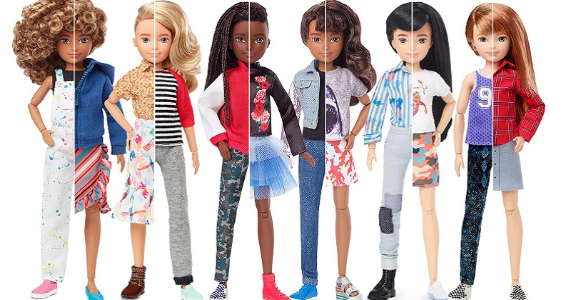 Mattel lancia una linea di bambole inclusive per invitare a giocare tutti i bambini