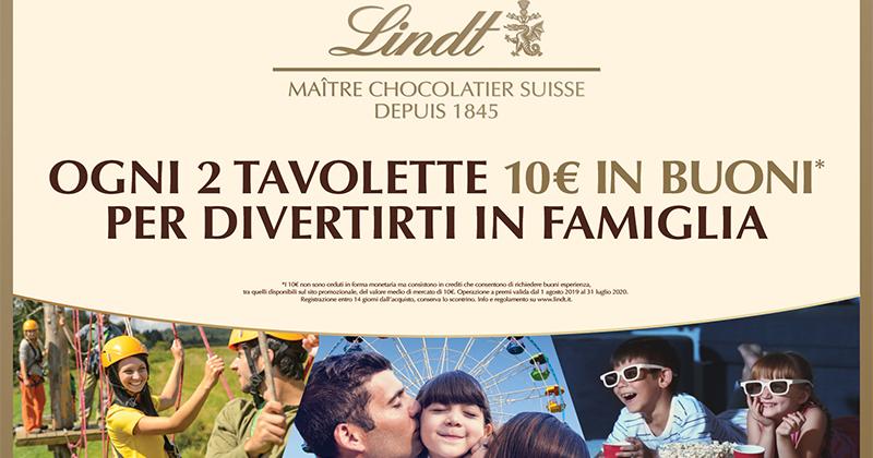 TLC Marketing firma la nuova campagna promozionale Lindt Tavolette
