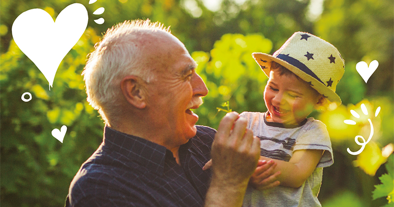Nonno Nanni celebra la Festa dei Nonni con un charity contest
