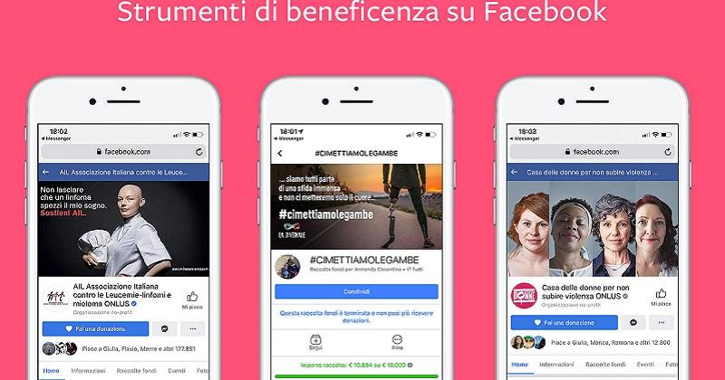 Facebook: oltre 2 miliardi grazie agli strumenti per le donazioni