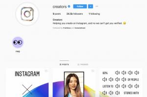 Creators Instagram