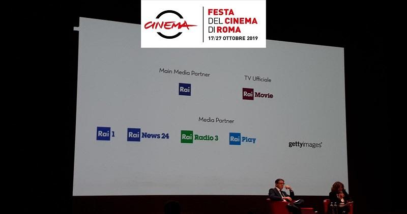 Rai Main Media Partner della XIV edizione della Festa del Cinema di Roma