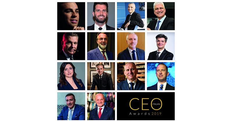 CEO Italian Awards 2019: ecco i 14 migliori top manager