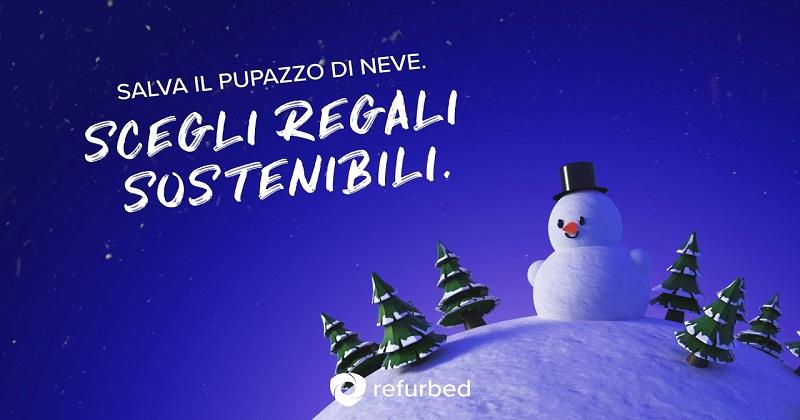 Il Natale green e tech di Refurbed: i regali che salvano i pupazzi di neve