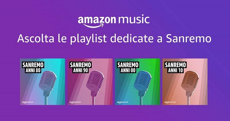 Amazon.it si prepara a Sanremo 2020 e svela la mappa di popolarità degli artisti in Italia